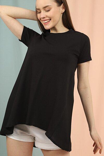 Kadın Asimetrik Tshirt
