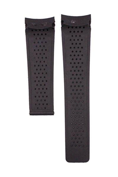 Tag Heuer Pendulum 24mm Siyah Silikon Saat Kordonu Tag106