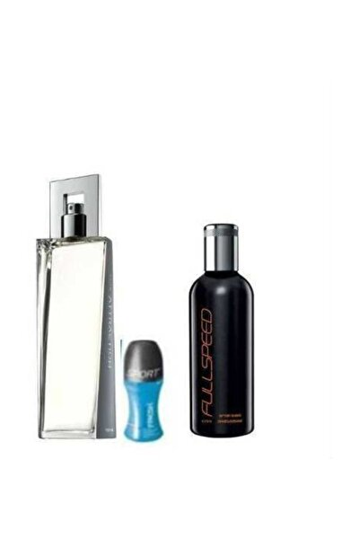 Attraction 75 Ml Erkek Edt+ Fullspeed After Shave+ Rolon