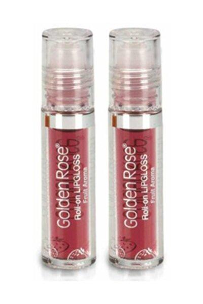 Meyveli Dudak Parlatıcısı  Roll On Lipgloss Çilek X 2