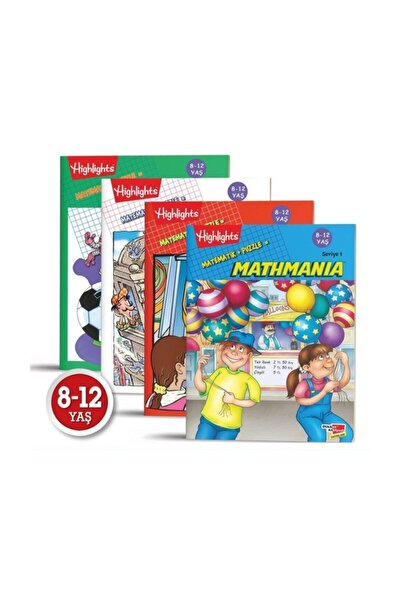 Mathmania 4'lü Set