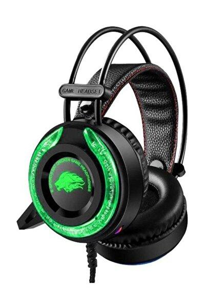 Realx Mikrofonlu Işıklı Oyuncu Kulaklığı A5