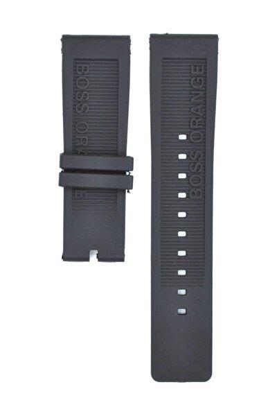 Hugo Boss Orange Hb1512985 24mm Siyah Silikon Saat Kordonu Hgb103