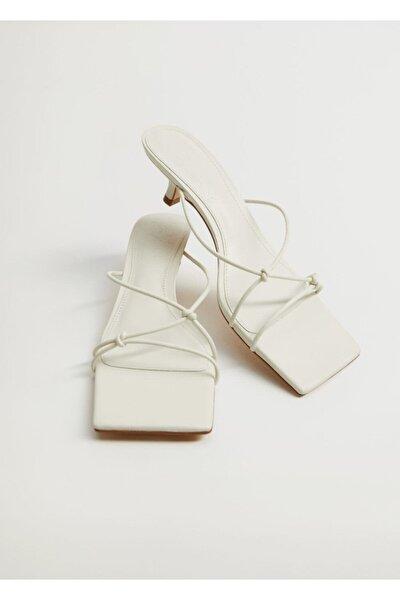 Düğümlü Topuklu Sandalet