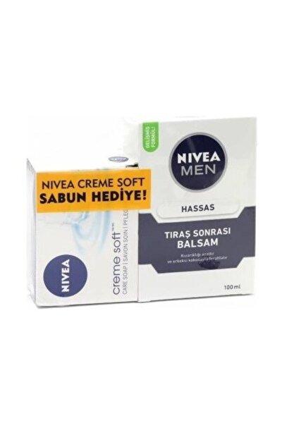 Traş Sonrası Balsam 100 ml + Nıvea 100 gr Sabun