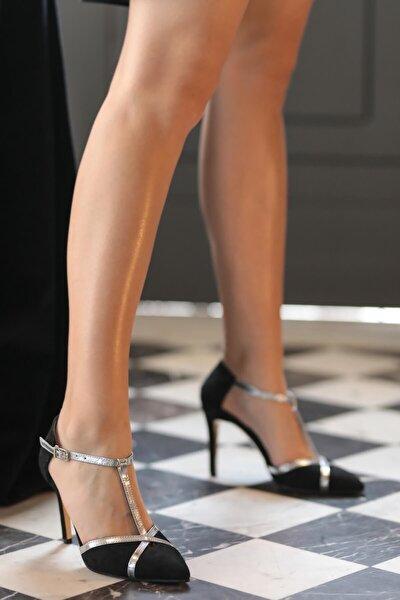 Gina Siyah Topuklu Ayakkabı