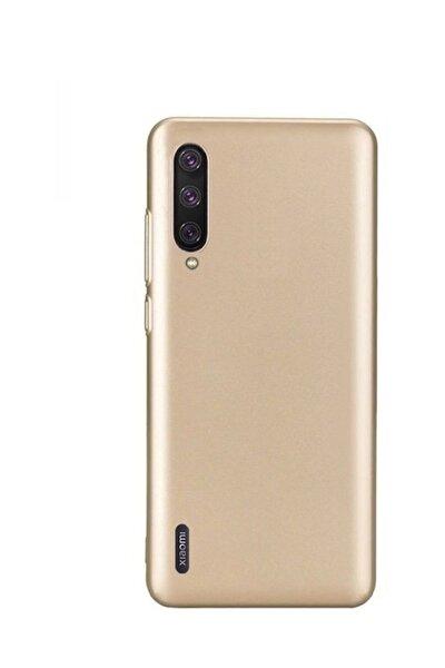 Xiaomi Mi 9 Lite Premium Matte Silikon Kılıf - Gold
