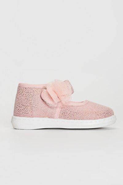 Kız Bebek Tatlı Pembe Crc Ayakkabı