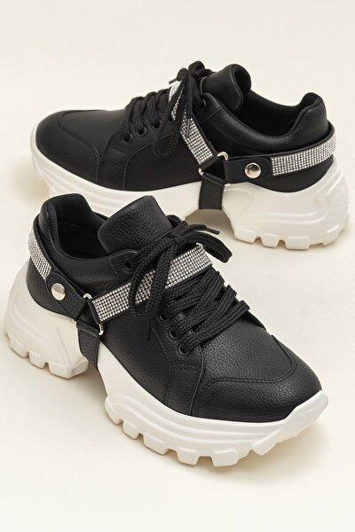 TABATA Siyah Kadın Ayakkabı