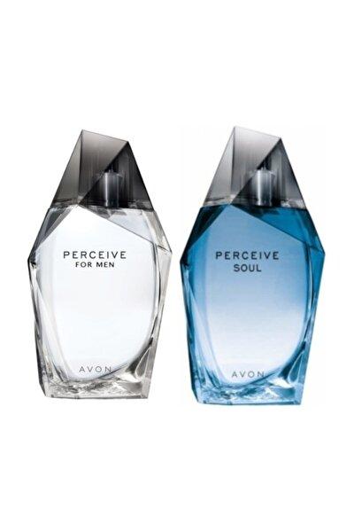 Perceive Edt 100 Ml Erkek Parfümü  Ve Perceive Soul Edt Erkek Parfüm 100 Ml
