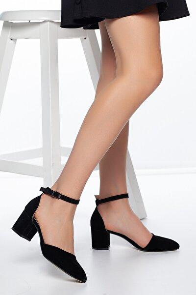 Siyah-Süet Kadın Ayakkabı DXTRSKRNDYRK001