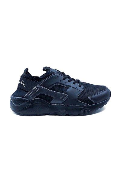 Pcs-10276 Unisex Sneakers Ayakkabı - Siyah - 39