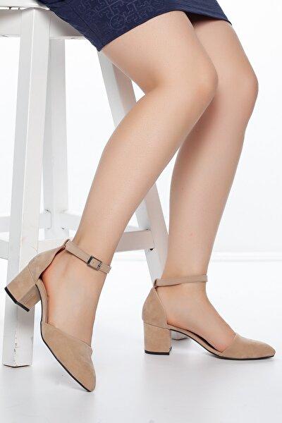 Pudra-Süet Kadın Ayakkabı DXTRSKRNDYRK001
