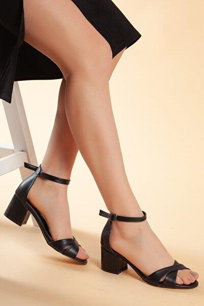 Siyah Kadın Ayakkabı DXTRFLRN204