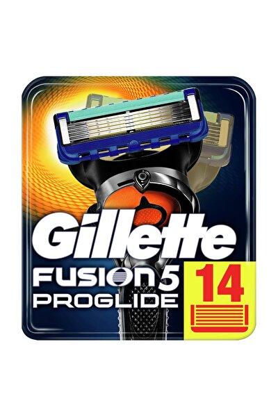 Fusion Proglide Yedek Tıraş Bıçağı 14'Lü Karton Paket