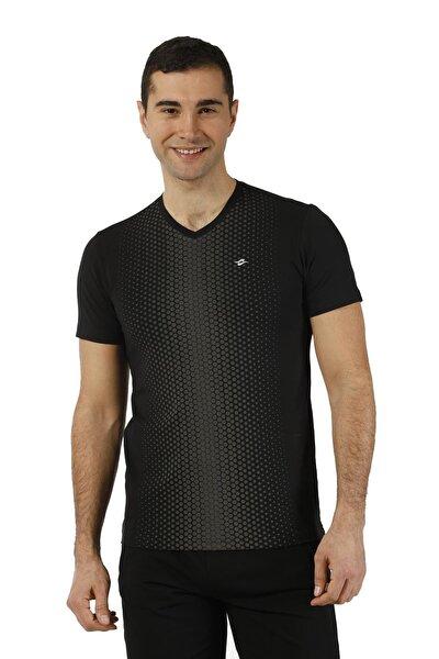 Erkek T-Shirt Micro Polyester V Yaka  - 2803