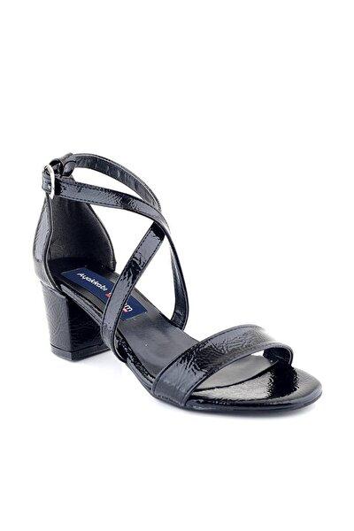 Siyah Kadın Sandalet 00580