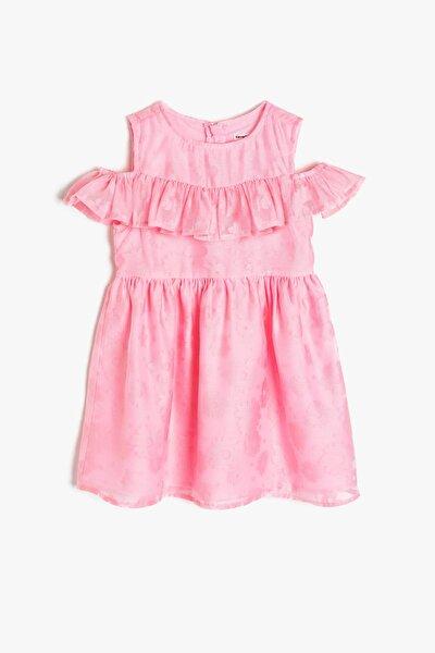 Pembe Kız Çocuk Elbise 9ykg87227ow