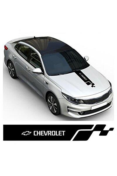 Chevrolet Kaput Oto Sticker Yapıştırma