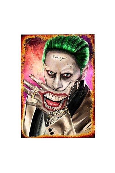 50cmX70cm Ahşap Tablo Retro Tablo Joker