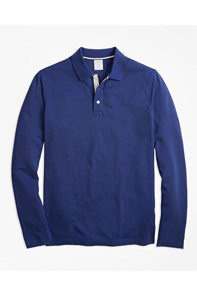 Erkek Mavi Polo Yaka Tişört 1-00096760
