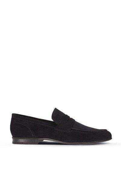 Lacivert Erkek  Loafer Ayakkabı 01714MLCVC01