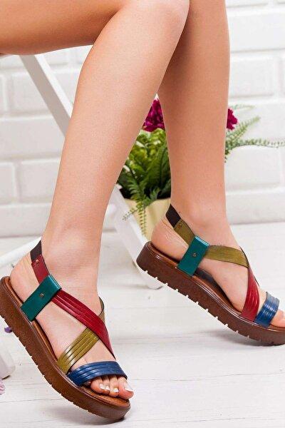 Multi Jade ki  Sandalet
