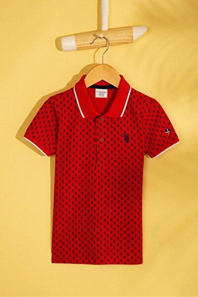 Kirmizi Erkek Çocuk T-Shirt