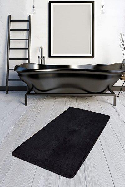 HAVAI SİYAH 80x140 cm Banyo Halısı Paspas