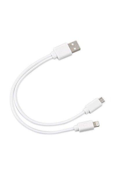 SL-IP53 USB iPhone 6/7/8 + Micro 5Pin Çevirici Kablo