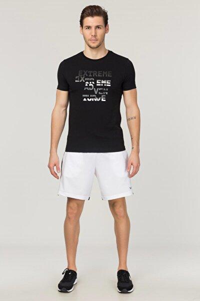 Siyah Pamuklu  Erkek T-Shirt FS-1674