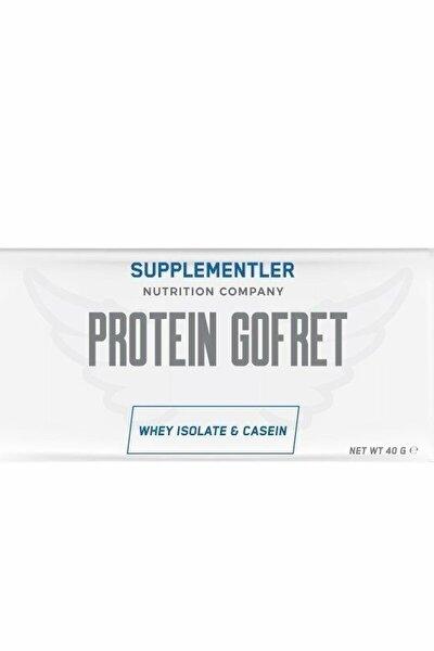 Supplementler.Com Protein Gofret 40 Gr 1 Adet - ÇİLEK