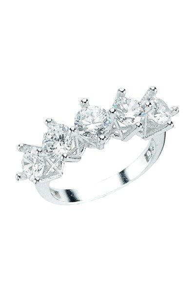 Kadın Gümüş Beştaş Yüzük DT0215