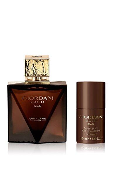 Giordani Gold Man Edt 75 ml  Erkek Parfümü + Deodorant 5745512965773