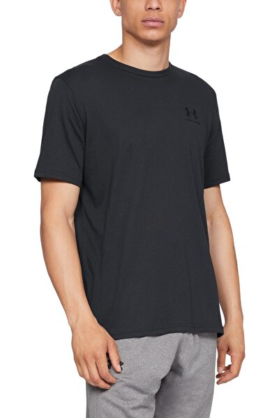 Erkek Spor T-Shirt - SPORTSTYLE LEFT CHEST SS - 1326799-001