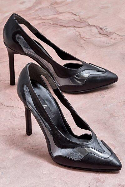 BLAGUN Siyah Kadın Topuklu Ayakkabı