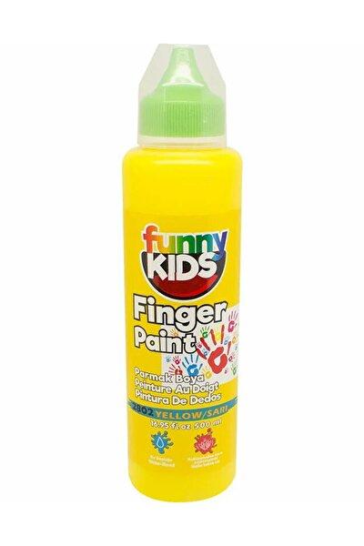 Funny Kids Parmak Boyası 500ml - 2802 Sarı