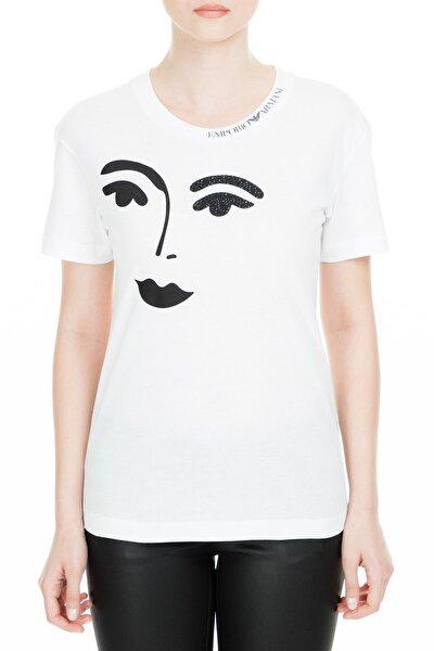 Beyaz Kadın T-Shirt S 3G2T63 2J29Z 0100