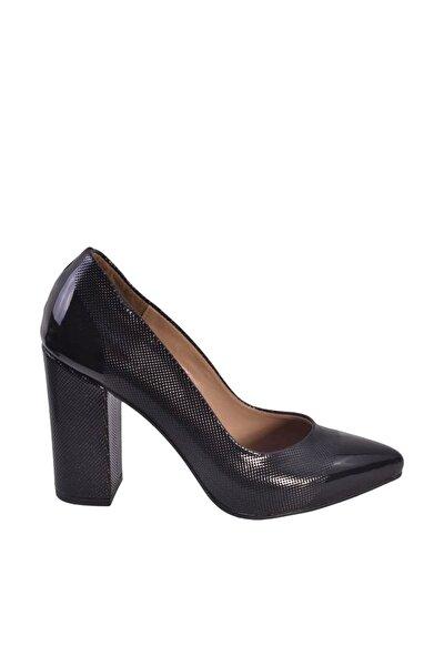 Siyah Kadın Topuklu Ayakkabı bzm0000001435
