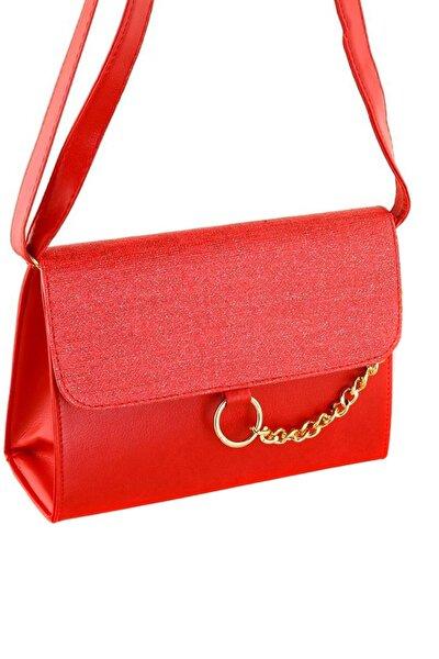 Kırmızı Kadın Postacı Çantası PRA-376006-4754