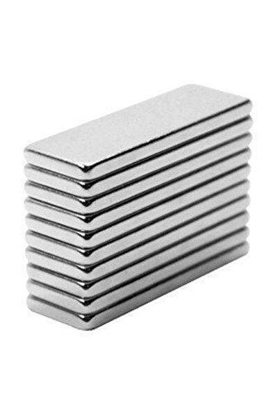Neodyum Mıknatıs 30x10x2 mm 20 adet  Dikdörtgen  Güçlü Magnet Mıknatıs