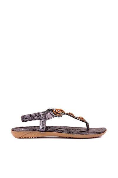 Gri Kadın Sandalet 292-19Y250-4