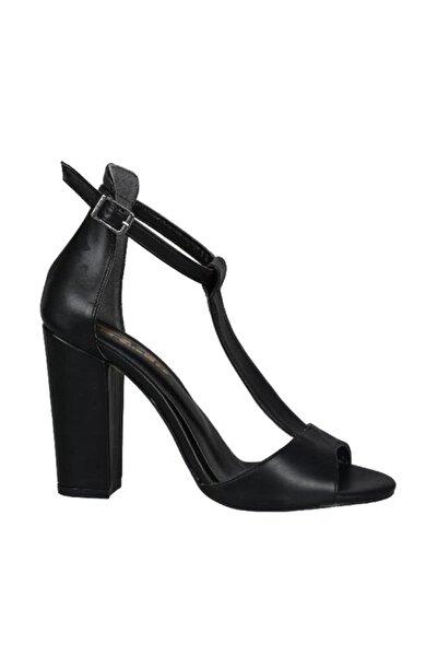 Siyah Kadın Klasik Ayakkabı 19Y423B0057-02