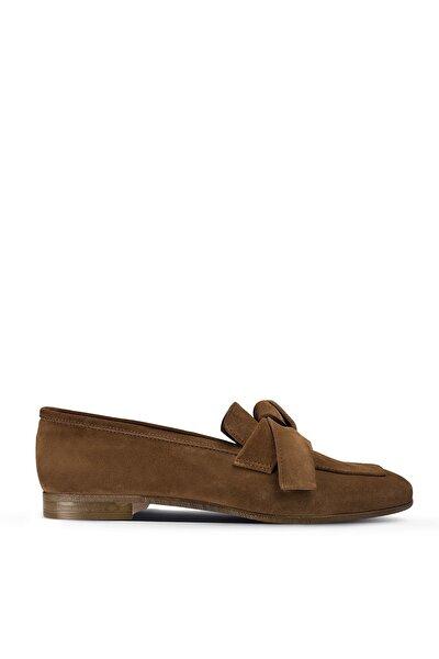 Taba Kadın Loafer Ayakkabı 01744ZTBAM01