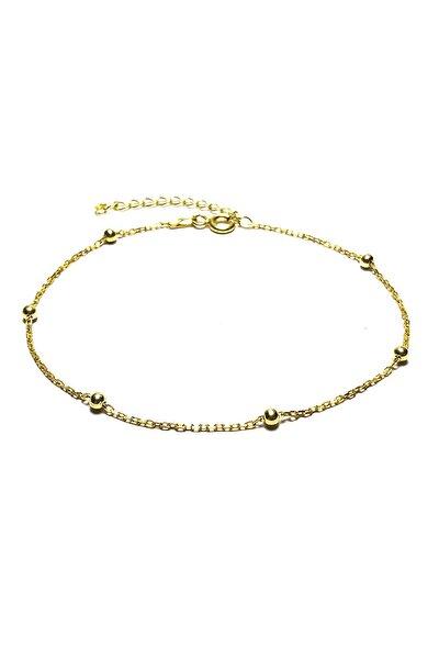 Kadın Altın Kaplama 925 Ayar Bayan Gümüş Bileklik  MGD2020908