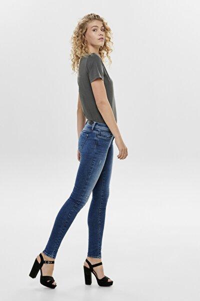 Kadın Lacivert Dar Paça Kot Jeans 15159137 ONLSHAPE 15159137