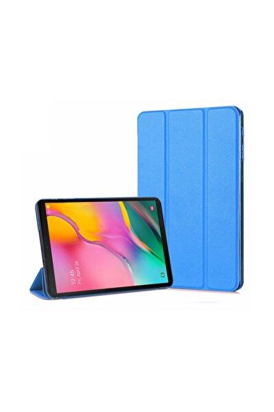 Galaxy Tab A 10.1'' T510 Smart Case Ve Arka Kılıf, Microsonic Mavi