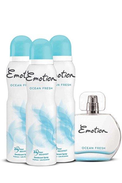 Ocean Edt Parfümü 50 ml + 3'Lü Deodorant 150 ml 507730-2