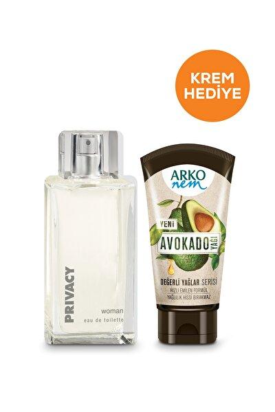 Women Edt Parfüm 100 ml & Arko Nem Değerli Yağlar Avokado 60 ml Hediye