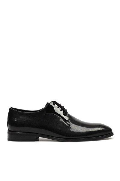 Hakiki Deri Siyah Erkek Klasik Ayakkabı